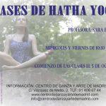 NUEVA CLASE: HATHA YOGA