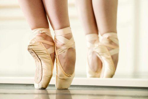 Zapatillas De Ballet Punta
